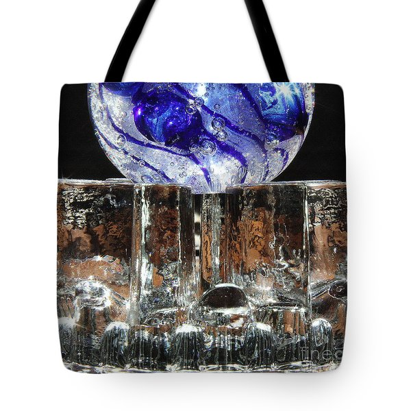 Glass On Glass Tote Bag