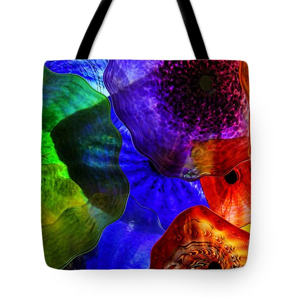 Glass Palette Tote Bag