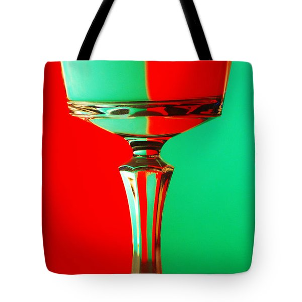 Glass Reflection Tote Bag