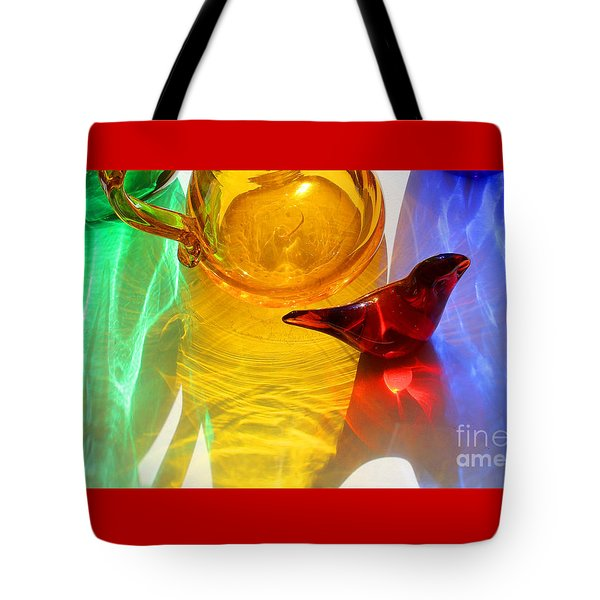 Glass Reflections #8 Tote Bag