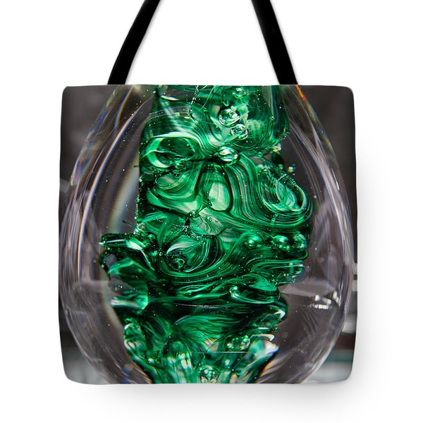 Glass Sculpture Egw  Tote Bag by David Patterson