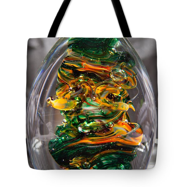 Glass Sculpture Go1  Tote Bag by David Patterson