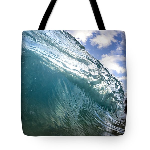 Glass Surge Tote Bag by Sean Davey