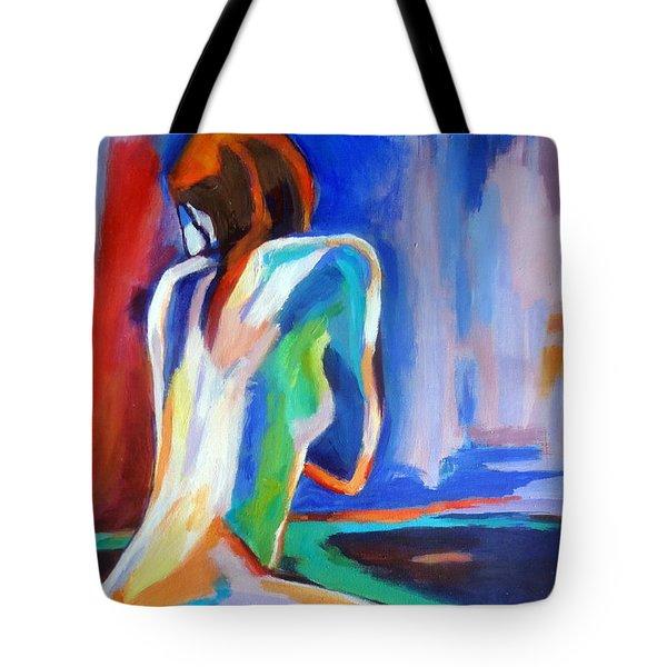 Gleam Tote Bag by Helena Wierzbicki