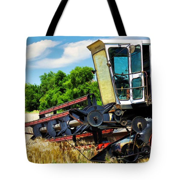 Gleaner F Combine Tote Bag by Bill Kesler