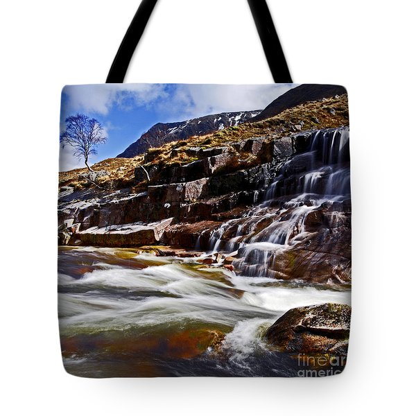 Tote Bag featuring the photograph Glen Etive by Craig B