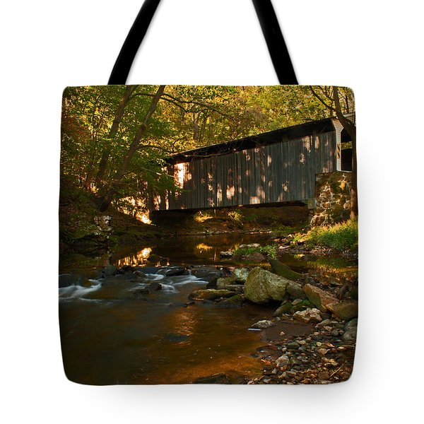 Glen Hope Covered Bridge Tote Bag