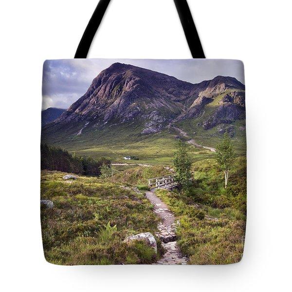 Glencoe Valley Tote Bag