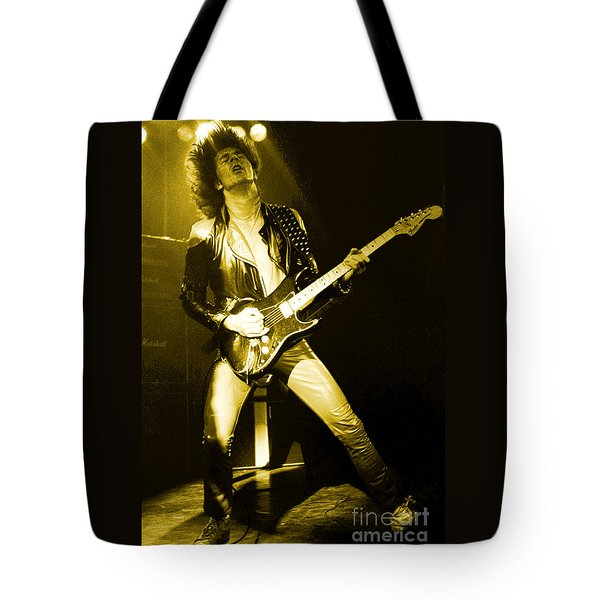 Glenn Tipton Of Judas Priest At The Warfield Theater During British Steel Tour - Unreleased Tote Bag