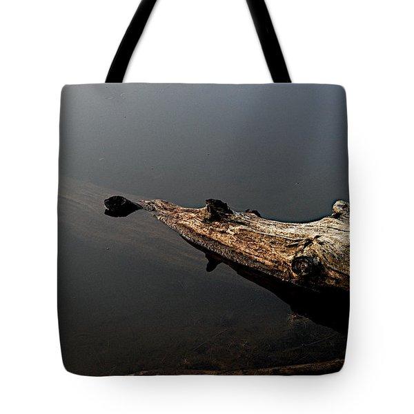Glen's Log Tote Bag by Joseph Yarbrough