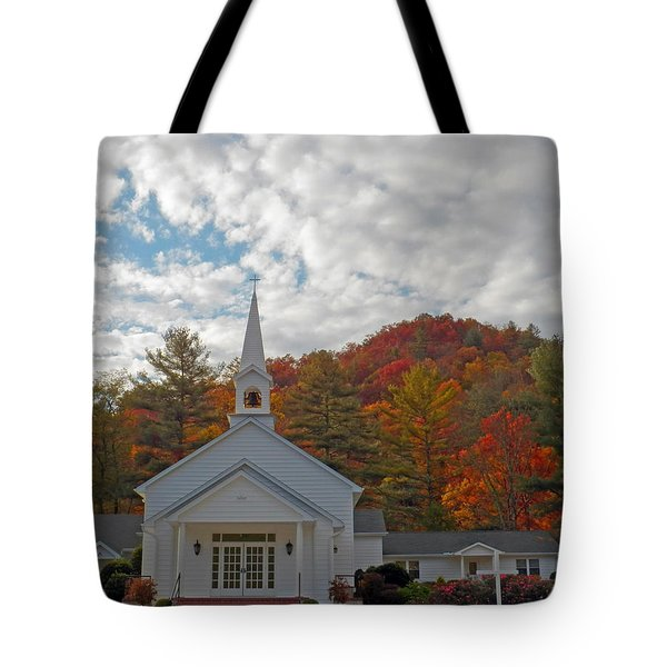 Glenville In Autumn  Tote Bag