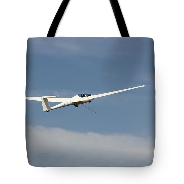 Glider In The Sky Tote Bag