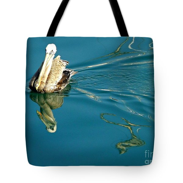 Tote Bag featuring the photograph Gliding by Clare Bevan