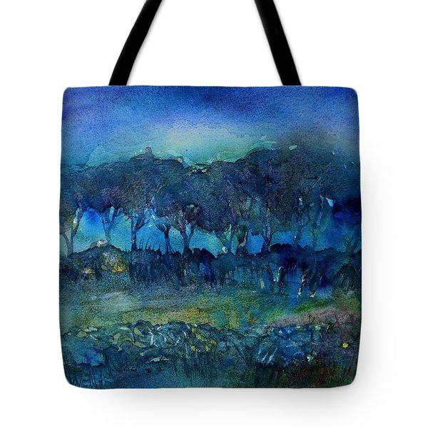 Glimmer Of Dawn  Tote Bag by Trudi Doyle