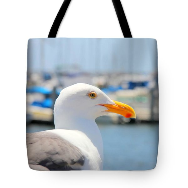 Tote Bag featuring the photograph Glimpse by Nick David