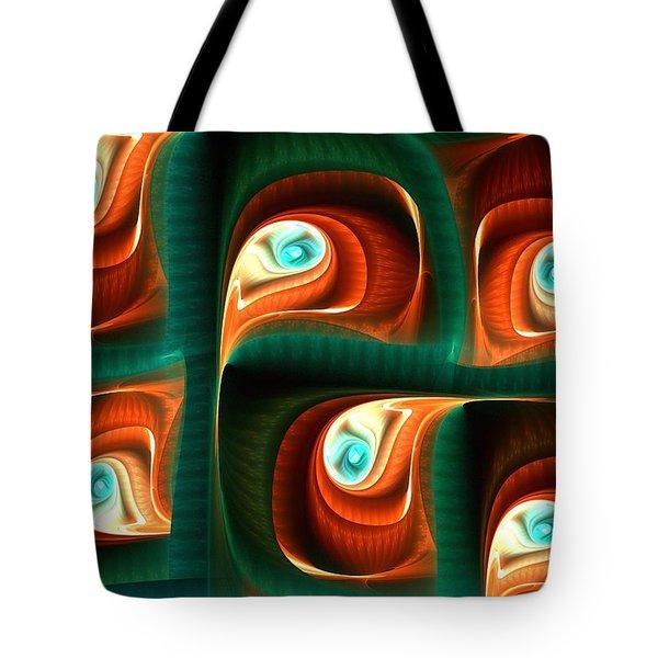 Glimpses Tote Bag by Anastasiya Malakhova