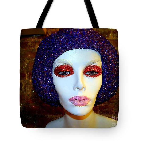 Glitter Gal Tote Bag by Ed Weidman