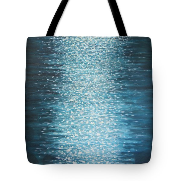 Glitter Tote Bag by Tone Aanderaa