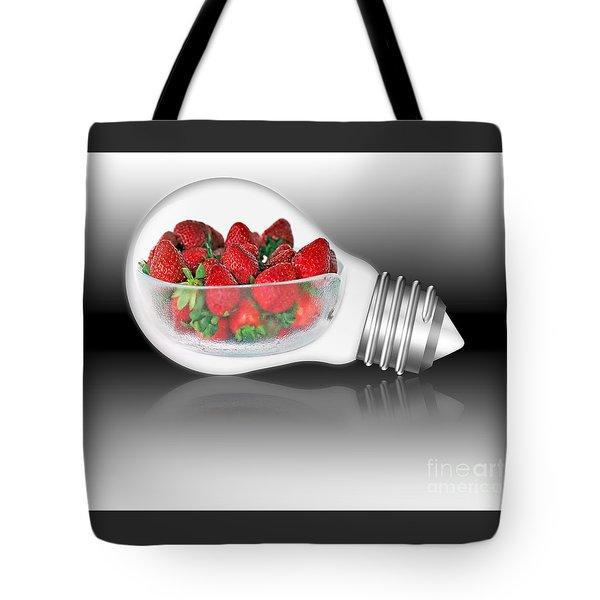 Global Strawberries Tote Bag