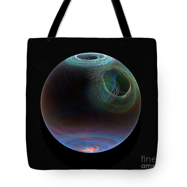 Global Warming Tote Bag by Peter R Nicholls