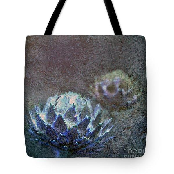 Globe Artichoke Tote Bag by Liz  Alderdice