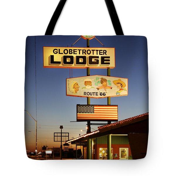 Globetrotter Lodge - Holbrook Tote Bag by Mike McGlothlen