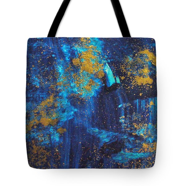 Tote Bag featuring the painting Gloria by Mary Sullivan
