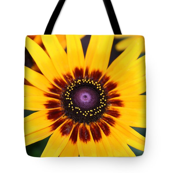 Tote Bag featuring the photograph Gloriosa Daisy by Denyse Duhaime