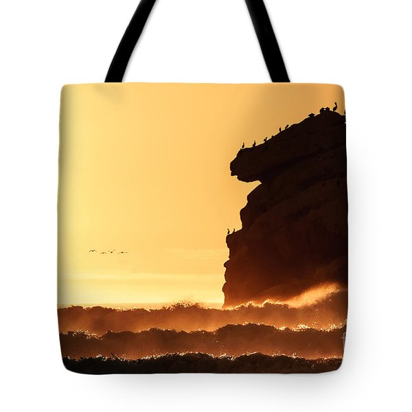 Glorious Afternoon At Morro Bay Tote Bag