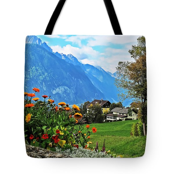 Glorious Alpine Meadow Tote Bag