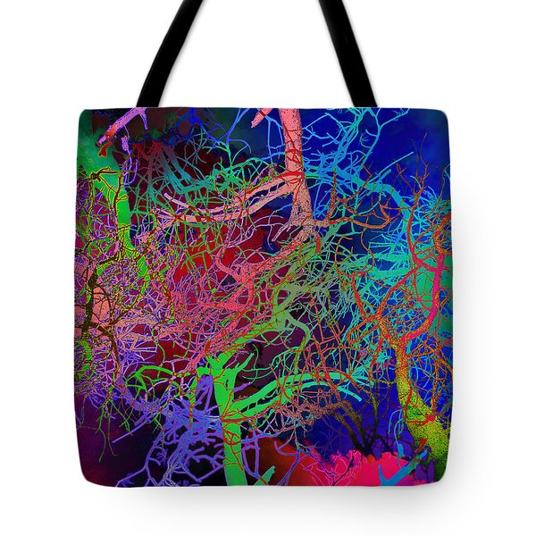 Glorious Bare Trees Tote Bag