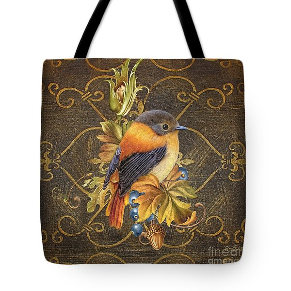 Glorious Birds-a Tote Bag