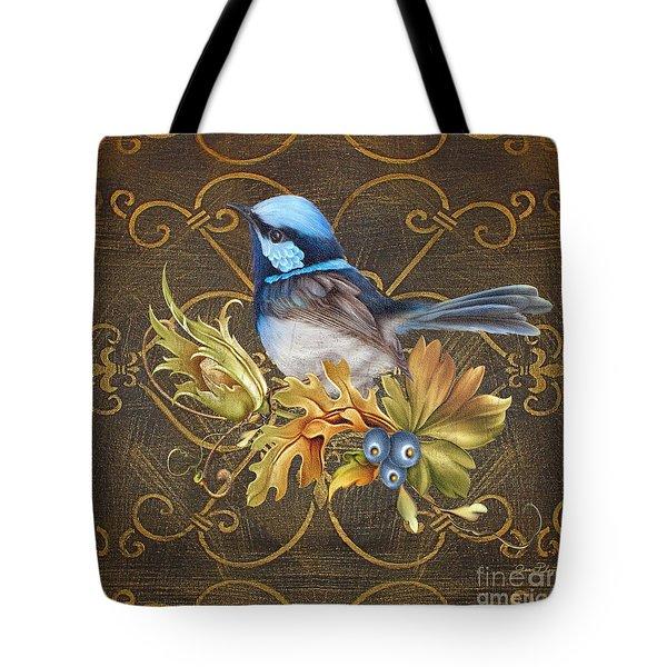 Glorious Birds-b Tote Bag