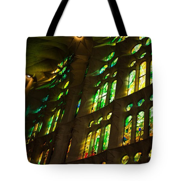 Glorious Colors And Light Tote Bag by Georgia Mizuleva