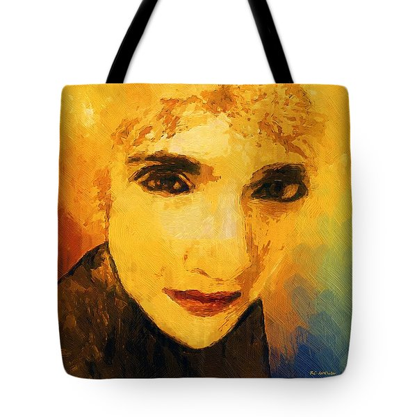 Glorious Crone Tote Bag by RC deWinter