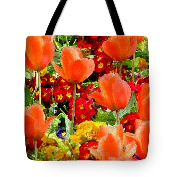 Glorious Garden Tote Bag by Bruce Nutting