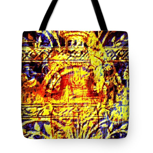 Glorious Gold Tote Bag by Larry Lamb