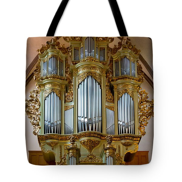 Glorious In Gold Tote Bag