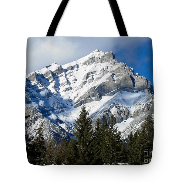 Glorious Rockies Tote Bag
