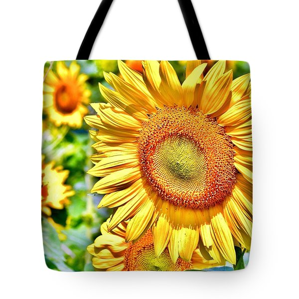 Glorious Sunflowers Tote Bag