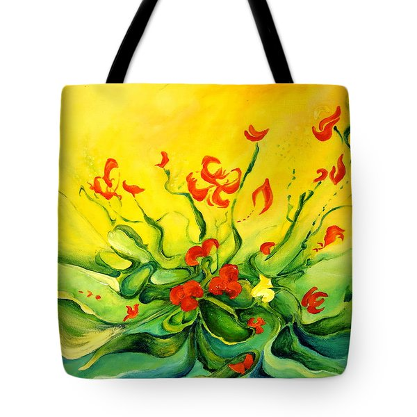 Glorious Tote Bag by Teresa Wegrzyn