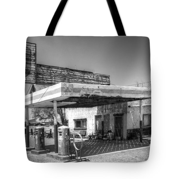 Glory Days Of Route 66 Tote Bag by Bob Christopher