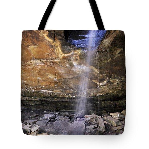 Glory Hole Falls - Arkansas - Waterfall Tote Bag