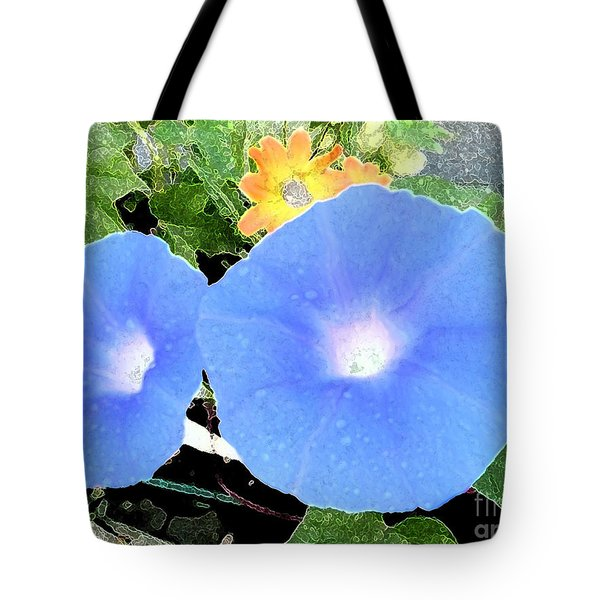 Tote Bag featuring the photograph Glory Morn by Ecinja Art Works