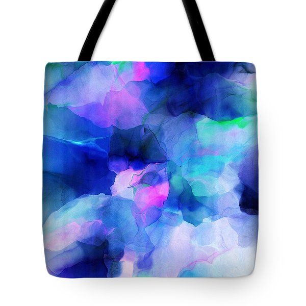 Tote Bag featuring the digital art Glory Morning by David Lane