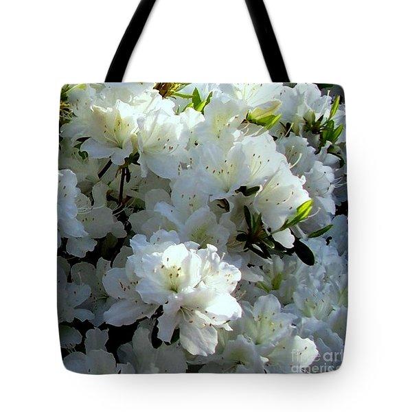 Glory Of White Tote Bag