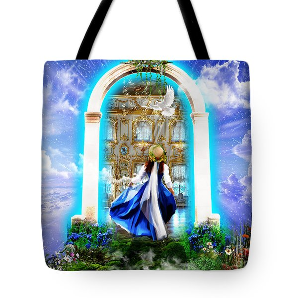 Glory Portal  Tote Bag