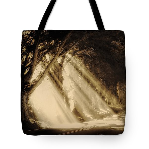 Glory Rays Tote Bag by Priscilla Burgers