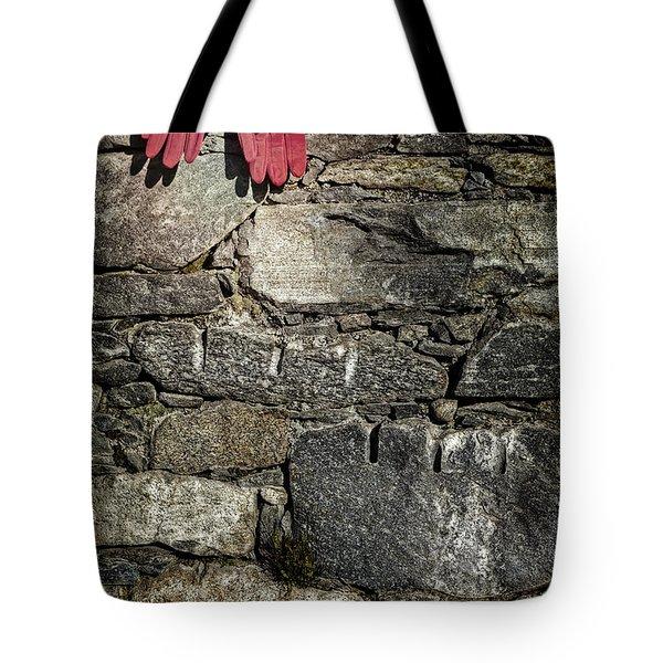 Gloves Tote Bag by Joana Kruse