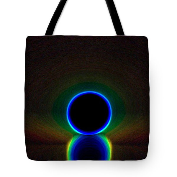 Glow Hole Tote Bag